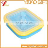 High quality food grade silicone crisper safe storage for food .