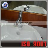 Deck Mounted Basin Faucet Chrome Water Faucet And Water Tap