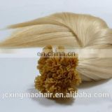 high quality wholesale price brazilian 1g/strand v tip virgin remy hair extensions
