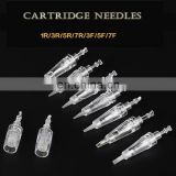 Free Shipping ( Bayonet ) Cartridge Makeup Needles Permanent Makeup Needles For Eyebrow Lips Tattoo Maachine