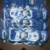 0.20mm Monofilament Fish Nets, Blue Color, Best Quality in Markets. Double Knot,high breaking strenght with best price
