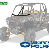 Strengthen utv front intrusion bar for polaris