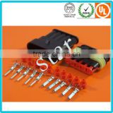 5 pin way Waterproof Car Male Female Connector Superseal Terminal Kits Tyco/ Amp Wire Connector