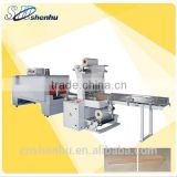 2015hot sale automatic shrink packer for doors/floors sleeve sealing and shrink wrapping machine