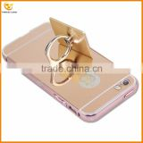 2016 new fashion for iphone 5 luxury mirror ring hard cover case