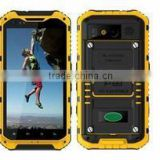 A9 NFC IP68 Waterproof Rugged Smartphone Android 4.4 MTK6582 Quad Core 4.3 Inch IPS 5MP 1GB 8GB with Outdoor Tools