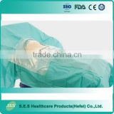 Customized baby birth sheet, disposable Caesarean surgical drape, pregnant women used drape with CE/ISO