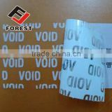 Tamper Evident void security seal Label Sticker tape customizable LOGO leave text, tamper evident security void label                                                                         Quality Choice