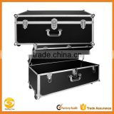14 x 30 x 16 Inches Locking Extra-Large Storage Chest with Wheels,rolling aluminum dj flight case,tool box flight case