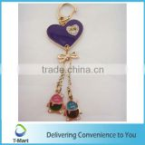 New Design Purple Heart Shaped Pendant design for bags, clothings, belts and all decoration