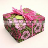 flower pattern bakery box