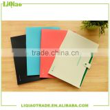 A4 colorful pvc tab file divider with button and 8 pockets very suitable for personal work