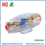 Gold Plated 4/8GA Mini ANL AFS Auto Fuse Holder Car Fuse Sheath For Car Electronic Appliances