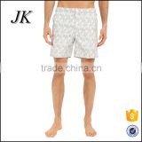 OEM wholesale custom polyester flowers casual mens swim shorts/swim trunks/beach short for man