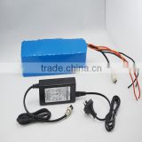 CE ROHS Customs 24v 10ah li ion Battery Pack For Electric Bike Ebike Scooter SLA Battery Pack a123