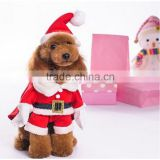 Fleece Material Suitable for Spring/Early Autumn Stereo Christmas Wear and Hat Pet Clothing