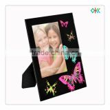 nice butterfly imprint picture art frame with glass