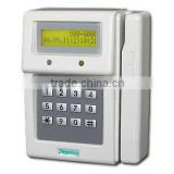 Barcode card access controller and time attendance recorder