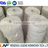 wenzhou factory wholesale buckram nonwoven fabric in 100% polyester