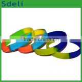 fashionable awareness charity bands promotional custom made silicone party wrist hand band