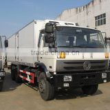 20 ton refrigerated box van truck, small refrigerator box truck, freezer cargo van, ice crean van