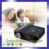 Newest LCD Projector Entertainment Projector DVD TV Game Player 1080P Projector