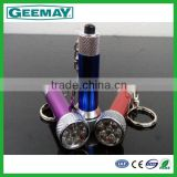 2014 new design mini portable best cree 7 led flashlight torch