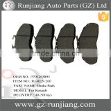 Wholesale brake pads OE:7701203895 for Renault