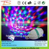 Mini E27 Disco DJ Stage Lighting LED RGB A7 Crystal Ball Effect Lamp Bulb LightLED Stage Lighting Bulb