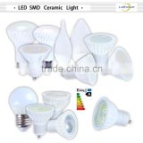 3 years warranty ceramic bulb lamp high efficiency dimmable SMD spot light bulb gu10 2500k led