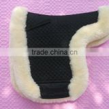 Horse sheepskin saddle pad with 25mm wool length