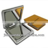 Hot sale in 2013 factory compact mirrors metal& foldable metall pocket mirror&metal cosmetic mirror
