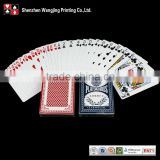 Professional Casino Playing Cards Use 310 gsm Germany Paper, Top Quality Printing Casino Poker