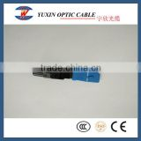 SC UPC and APC Optical Fiber Fast Connector For FTTH From China Factory
