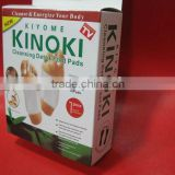 kinoki detox foot patches / foot detox patch / foot patch detox pad