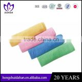 microfiber quick dry dish cloth plain dyed gird kitchen cleanning towel China manufacturer
