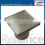 SS304 316 Stainless Steel Bathroom Floor Drain With Plastic Pipe