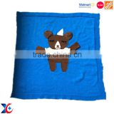 Boya fashion Industrial and Trading Company soft felt korea mink blanket custom picnic panda blanket
