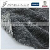 Jiufan Textile 2016 New Style Fancy Knitting Yarn Dyed French Terry Polyester Cotton With Lurex Fabric For Garment