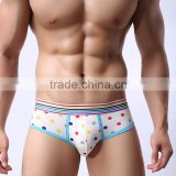 Brand new 2016 Men's Sexy Stripe belt Underwear shorts men boxers underpants Soft clothes