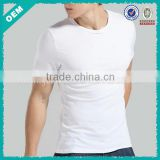 Men T-shirts with Your Own Design Label/Blank Sun Wear Cheap Plain T-shirts/Wholesale Bulk White T-shirts for Men (lyt010032)