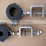 High quality and long working life ROUND Type feeder clamp/304SS Anchorear type Electric Cable Clamp