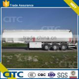 High quality 3 axles oil tanker semi-trailer/chemicing liquid tank trailer/fuel tanker semi-trailer for sale