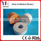 Advaced Sport Cotton Tape/Zinc Oxide tape Manufacturer CE FDA