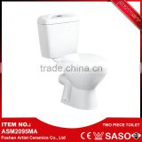 Hot Sale Vitreous China Floor Mounted European Water Closet New Model