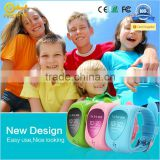 For Child safety ! Colorful silincone wearable tracking device kids gps bracelet