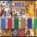 Xinlong super clear basketball star paper poster