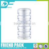 five layer sample cosmetic containers eye shadow container