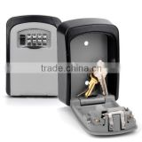 Wholesale Large Size Key Lock Box Digital Wall Mount Key Safe Box WALL MOUNT KEY BOX can fit for credit card