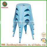 Modern colorful stackable restaurant dining chairs